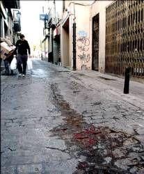Un joven resultó herido al caer de una escalera en una obra en la que trabajaba en la calle Trujillo de Plasencia