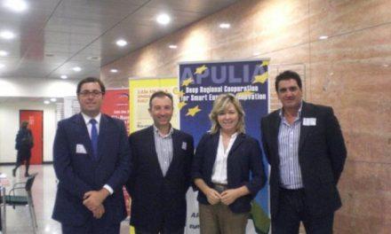 Las diputaciones europeas, entre ellas la de Cáceres, presentan sus iniciativas innovadoras en Bruselas