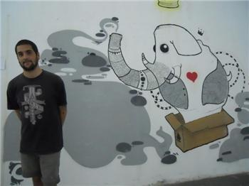 Carlos Cano, con su obra «El Principito», gana el primer premio de la III edición del concurso Graffiti Literario
