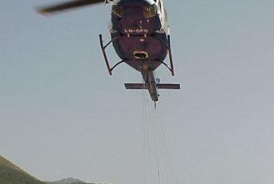 Efectivos del Infoex continúan trabajando y vigilando la zona afectada por el incendio de Hervás
