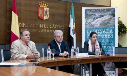 Miguel Aguiló inaugurará la primera jornada sobre patrimonio rural que acogerá Valencia de Alcántara