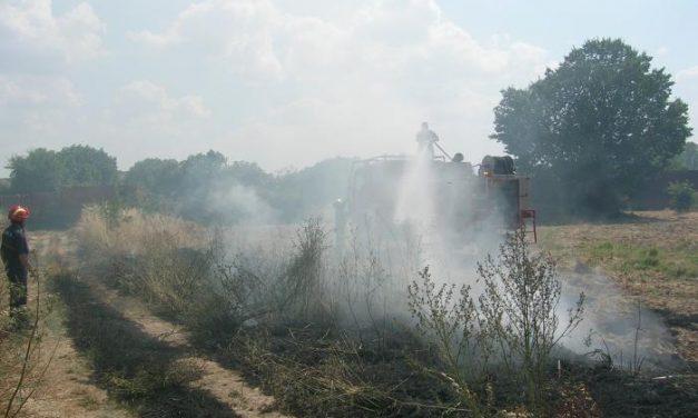 Varios incendios forestales de matorral y pastos afectan a Coria, Moraleja, Guijo de Coria y Rincón del Obispo