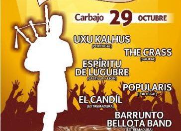 Seis grupos de música  celta participan en el Festival El Magusto que acoge Carbajo esta jornada