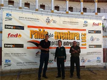 Barcarrota ha acogido el V Raid de Aventura de Alcarrache con la participación de 110 parejas