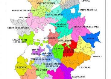Gobierno de Extremadura y diputaciones distribuyen 2,5 millones de euros a las mancomunidades