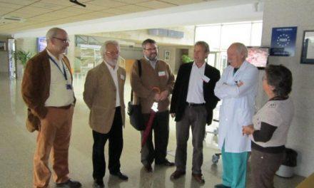 El coordinador de IU valora positivamente la labor que se realiza en el Centro de Cirujía de Mínima Invasión