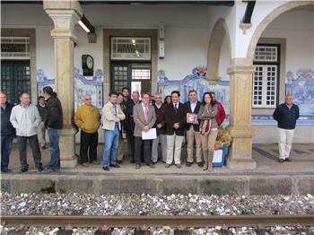 """Del Moral defiende el tren Lusitania por ser una comunicación """"estratégica y esencial"""" para la región"""