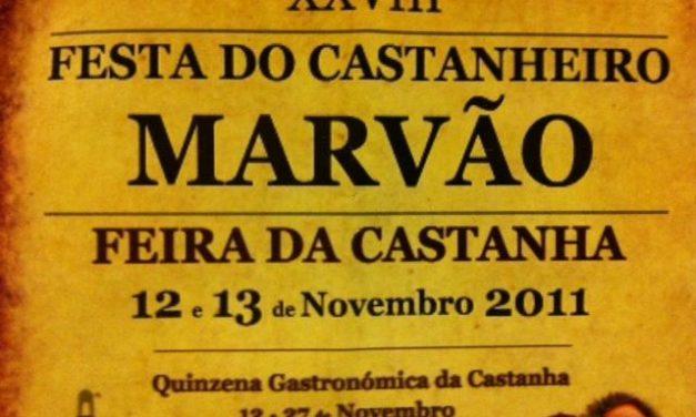 Marvâo repartirá en la Feria de la Castaña seis toneladas de este producto y 2.000 litros de vino