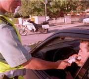 La Dirección General de Tráfico realizará más de 200.000 controles de alcoholemia en Navidad