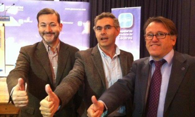 El PP anima a los extremeños a dar un cambio político a España como ya lo hicieran en Extremadura el 22-M