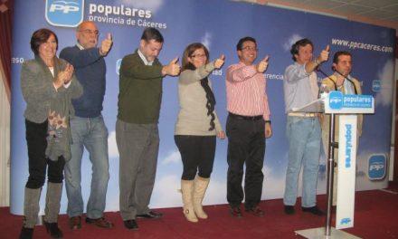 Con el 67% de los votos escrutados el PP consigue la mayoría en Extremadura y rompe el empate con el PSOE