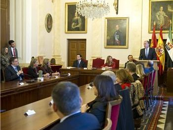 Monago asiste a la entrega del Premio Patrimonio 2011 otorgado por el Grupo de Ciudades Patrimonio
