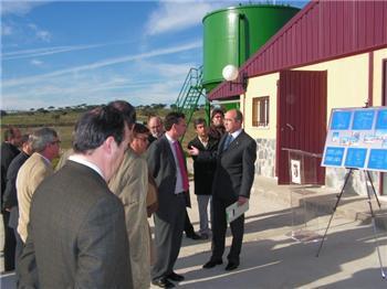 Acehuche inaugura la Estación de Tratamiento de Agua Potable con una inversión de 543.750 euros