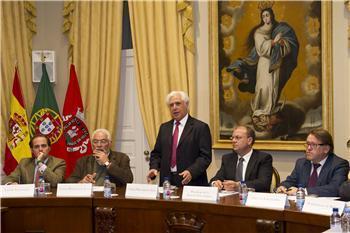 Valencia de Alcántara formará parte de la gestora extremeña creada para la defensa del ferrocarril