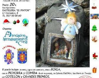 La Asociación de Hermanamientos de Coria acompañará a Ademoxa a colocar el Belén en Jálama