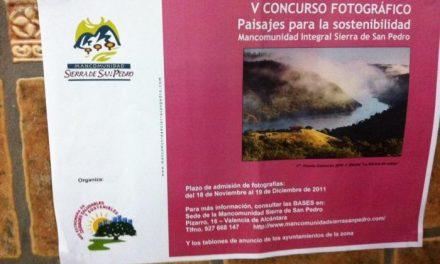 El próximo lunes finaliza el plazo para participar en el  concurso de fotografías sobre la Sierra de San Pedro