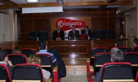 La Cámara de Comercio de Badajoz celebra una jornada informativa sobre el panorama financiero