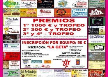 La Peña La Geta de Coria organiza este fin de semana la XI edición de las 24 horas de fútbol-sala