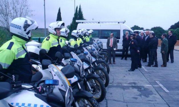 La policía local de Cáceres cuenta con una nueva flota de siete vehículos y 9 motocicletas