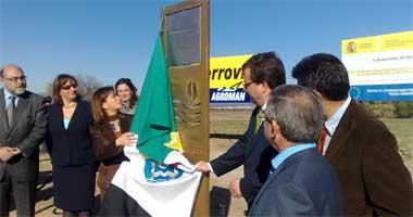 La modernización del regadío del Canal de Orellana supone una inversión de 27 millones de euros