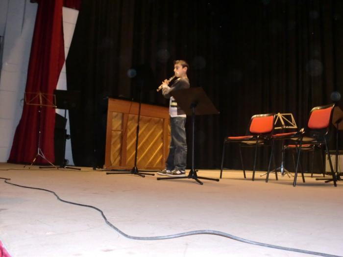 El concierto de Navidad de los alumnos de la Escuela de Música de Moraleja llena la casa de cultura