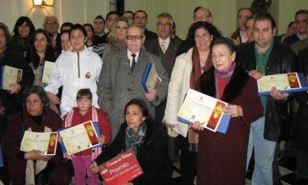 La concejalía de Festejos del Ayuntamiento de Cáceres entrega los premios del Concurso de Belenes