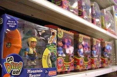 Consumo ha inmovilizado unos 10.000 juguetes en la región que podrían suponer un riesgo para el consumidor