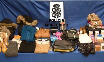 La Policía Nacional detiene en Don Benito a un individuo por un delito de hurto continuado