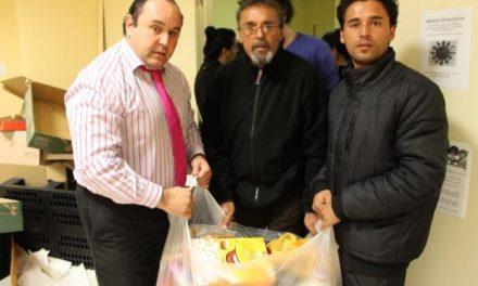 Los Servicios Sociales de Mérida entregan a familias necesitadas 200 bolsas con alimentos básicos