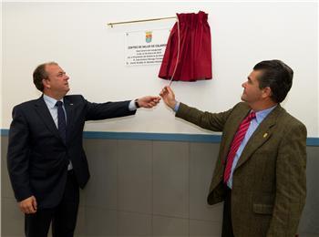 Monago manifiesta en la inauguración del centro de salud de Calamonte que la primera riqueza es la salud