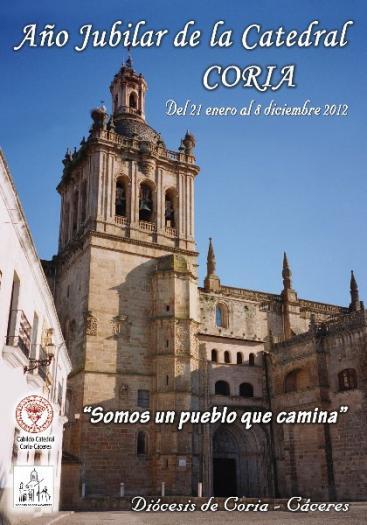 La Diócesis de Coria-Cáceres presentará la programación del Año Jubilar de la Catedral de Coria este lunes