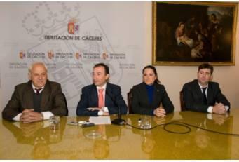 La Diputación de Cáceres sembrará patatas para colaborar con el proyecto solidario del Club Rotary
