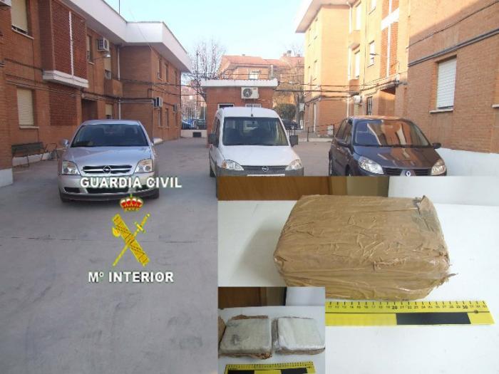 La Guardia Civil detiene a cinco personas por un supuesto delito de tráfico de drogas en Sierra de Gata