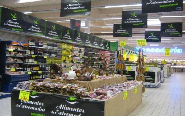 El Gobierno de Extremadura trabaja en posicionar los productos de alimentos en nuevas redes de distribución