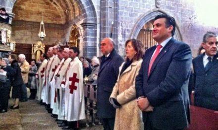 El consejero de Agricultura del Gobierno regional asiste a la apertura del Año Jubilar de la Catedral de Coria