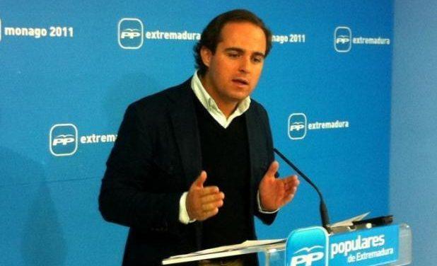 """El Partido Popular recuerda que no hay """"varitas mágicas"""" para acabar con el paro en Extremadura"""