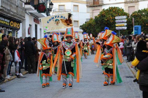Valencia de Alcántara ultima los preparativos de los concursos de carteles y comparsas de Carnaval