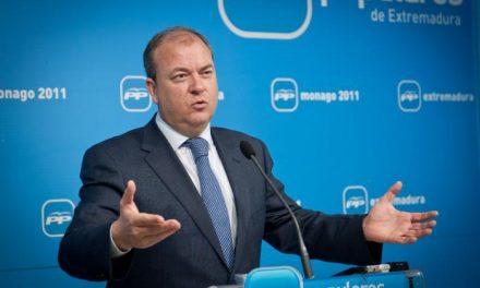 Monago asegura que está defendiendo ante el Ejecutivo central el sector de las energías renovables