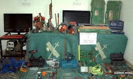 Detenidos dos jóvenes por una decena de robos en casas de campo y casetas de obras de Jerez de los Caballeros