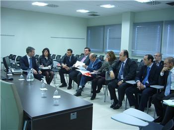 Miguel Córdoba presenta en Mérida el plan de internacionalización de la economía de la región