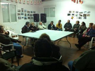 Los vecinos de Las Casiñas y San Pedro demandan mejoras en el transporte público de la comarca