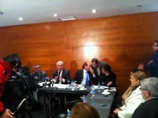 Colectivos de transportistas anuncian en Badajoz movilizaciones si Portugal no crea una zona de libre peaje