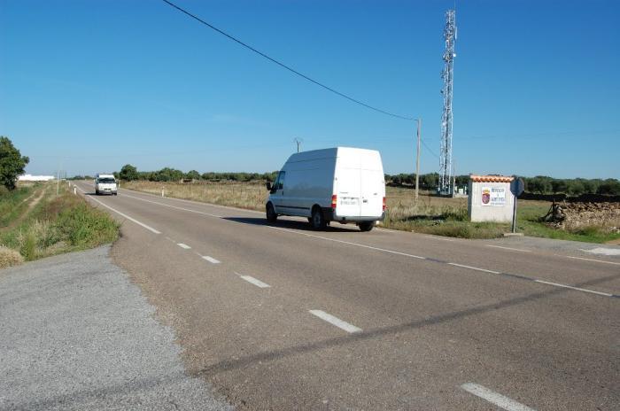 El Ayuntamiento de Valdefuentes prevé construir un polígono de 200.000 metros junto a la Ex-203