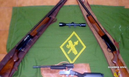 La Guardia Civil detiene a dos cazadores furtivos en un coto de caza del término de Alburquerque