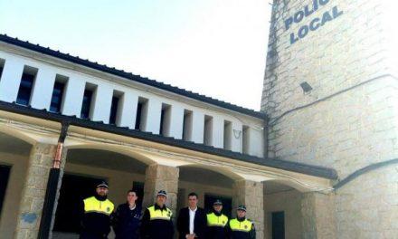 La Policía de Coria estrena sus nuevas oficinas en el antiguo mercado de abastos, en Avenida de Extremadura