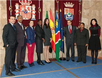 Extremadura y Namibia abrirán una línea de colaboración para promover las inversiones extremeñas