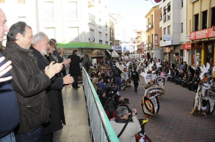 La Diputación de Cáceres apoya los Carnavales de Villar del Pedroso y de Navalmoral de la Mata