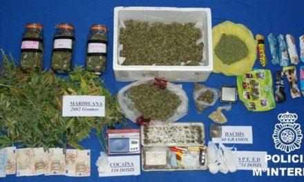 La Policía desarticula un grupo organizado que traficaba drogas en la provincia de Badajoz