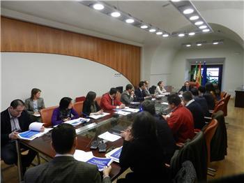 El consejero de Ecomonía preside la primera reunión del Consejo Gestor de Edificios Administrativos