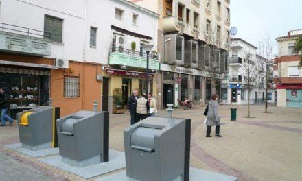 Los nuevos contenedores soterrados obligan a subir la tasa de basura en Navalmoral de la Mata el próximo año